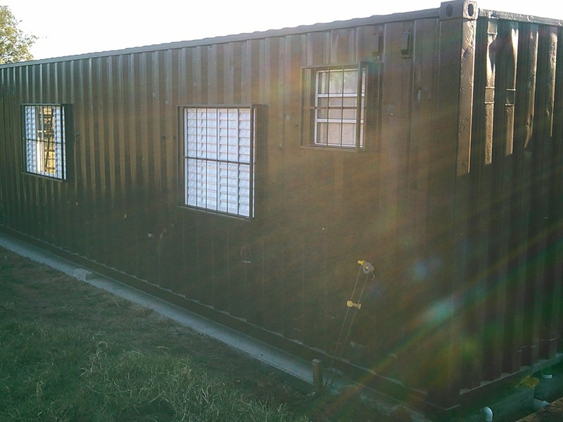 Container habitável