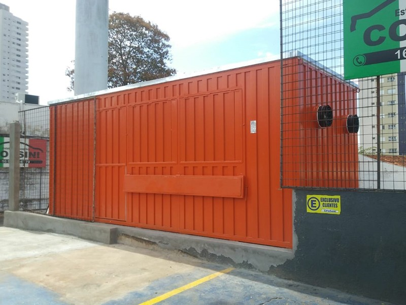 Container lanchonete sp